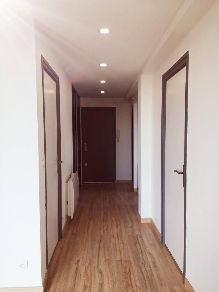 peinture faux plafond sol